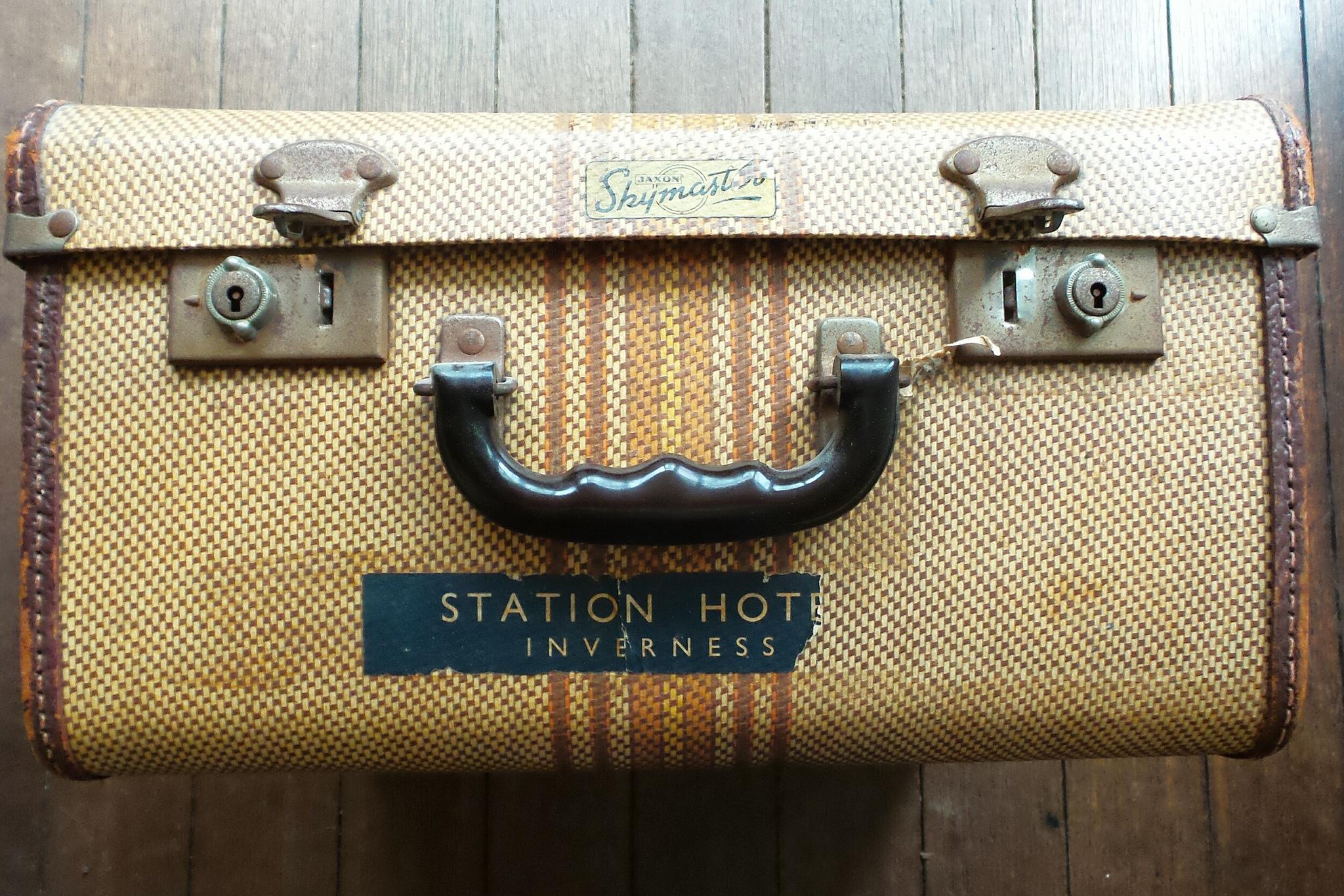 Kufr, krosna nebo batoh